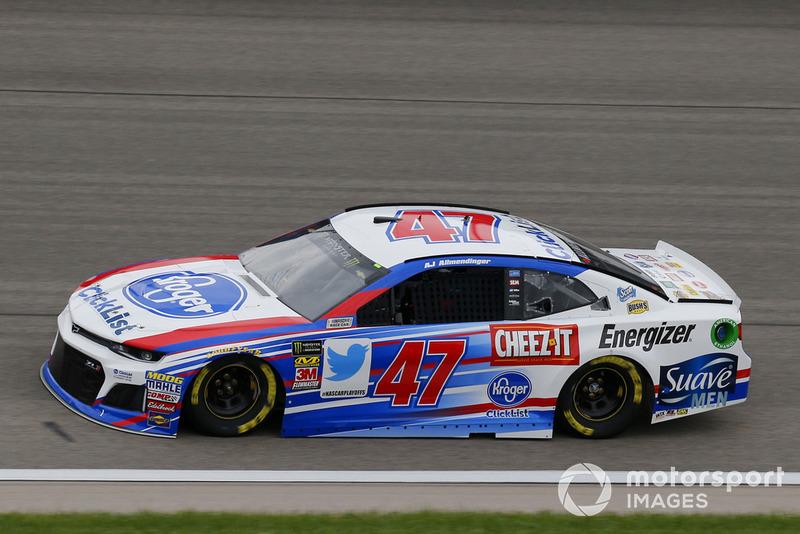 25. A.J. Allmendinger, JTG Daugherty Racing, Chevrolet Camaro Kroger ClickList