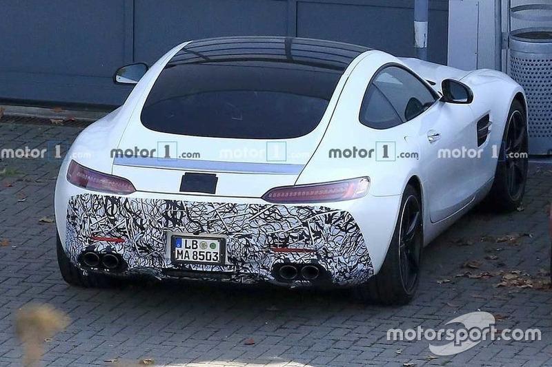 Mercedes AMG GT (шпигунське фото)