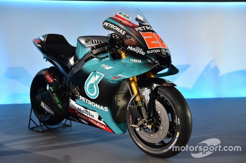 Moto de Fabio Quartararo, PETRONAS Yamaha Sepang Racing Team