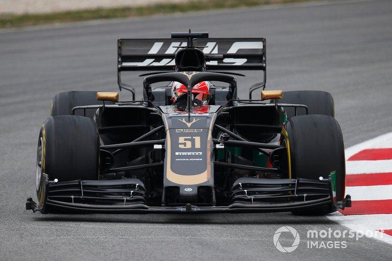 П'єтро Фіттіпальді, Haas VF-19
