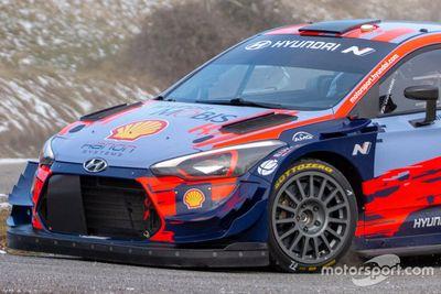 Test del WRC en diciembre