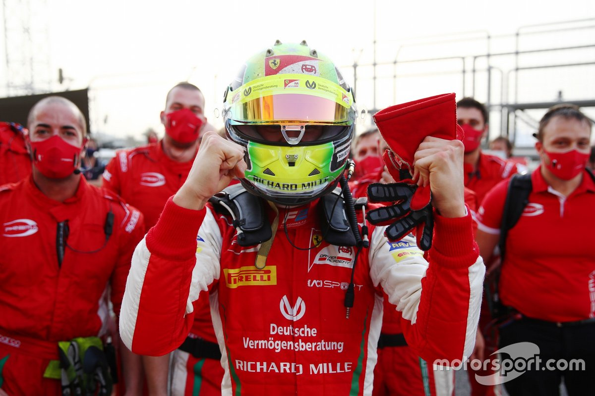 F2 Champion Mick Schumacher, PREMA Racing