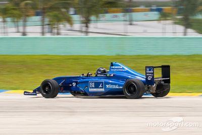 Test d'Emerson Fittipaldi Jr à Homestead