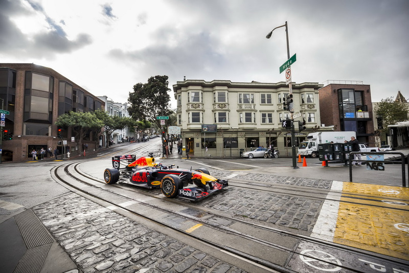 Daniel Ricciardo, Red Bull Racing en San Francisco