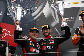 Podium: #1 Belgian Audi Club Team WRT Audi R8 LMS: Alex Riberas, Christopher Mies