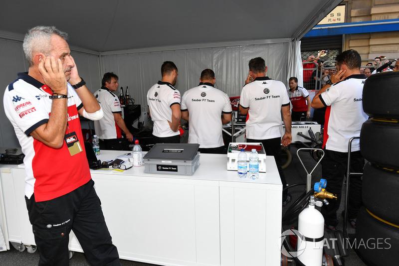 Гараж Alfa Romeo Sauber F1 Team