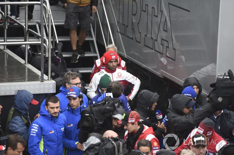 Даніло Петруччі, Pramac Racing, після засідання Комісії з безпеки