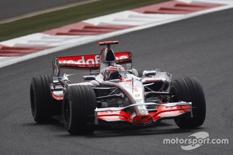2007: McLaren-Mercedes MP4-22