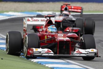 Фернандо Алонсо, Ferrari F2012, Дженсон Баттон, McLaren MP4-27 Mercedes