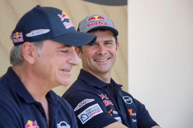 #300 X-Raid Mini JCW Team: Carlos Sainz, #308 X-Raid Mini JCW Team: Cyril Despres