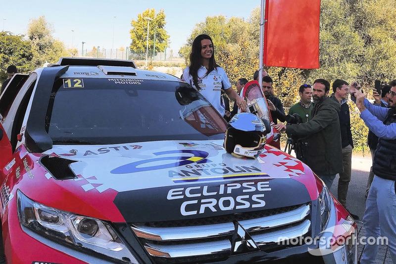 Cristina Gutiérrez, Mitsubishi Dakar 2019