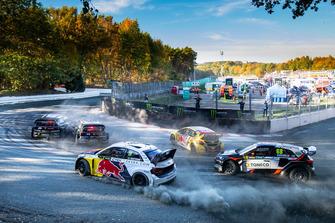 Mattias Ekström, EKS Audi Sport, Niclas Gronholm, GRX Taneco