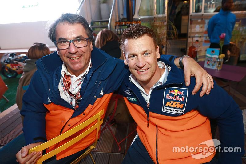Stefan Pierer, Pit Beirer, KTM