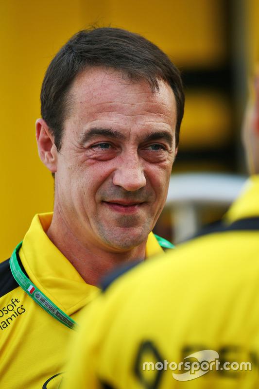 Louis Bordes, Renault Sport Racing Communications Director