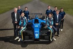 Renault e.Dams mit Nicolas Prost, Sébastien Buemi und Alain Prost