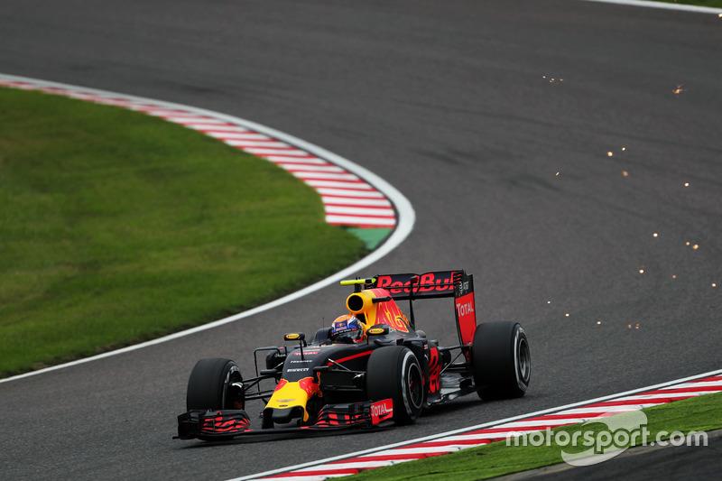 3: Max Verstappen, Red Bull Racing RB12