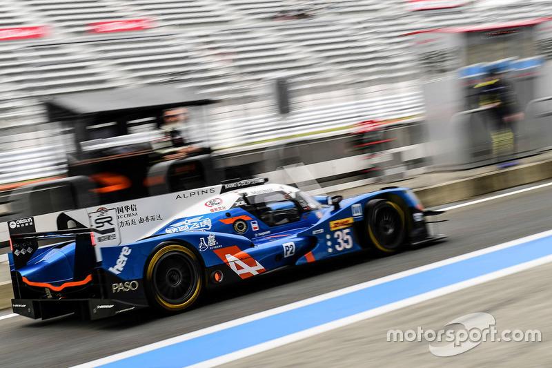 11. LMP2: #35 Alpine A460 - Nissan: David Cheng, Ho-Pin Tung, Paul Loup CHatin