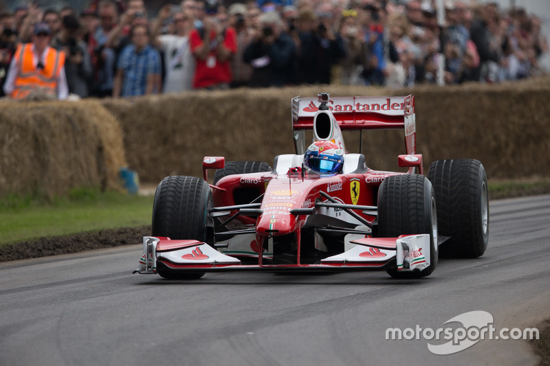 Ferrari F10 - Marc Gene at Goodwood Festival of Speed