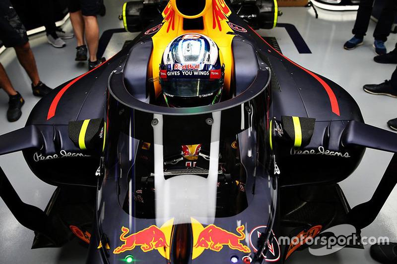 Probesitzen für Daniel Ricciardo