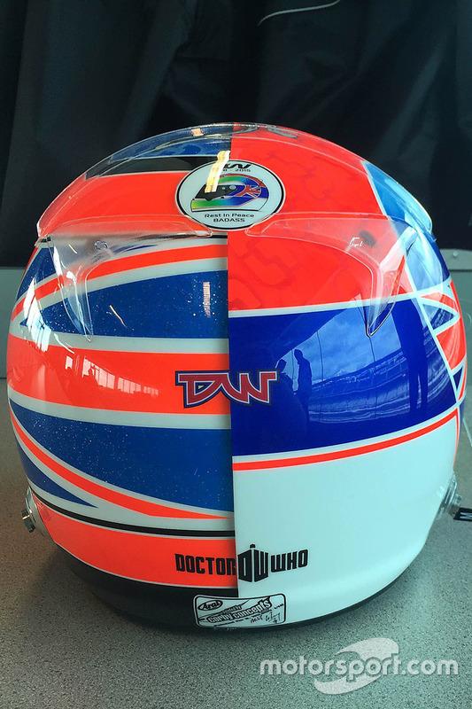 Helm, Stefan Wilson für das Indy 500