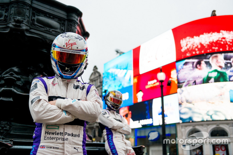 Jean-Eric Vergne und Sam Bird, DS Virgin Racing