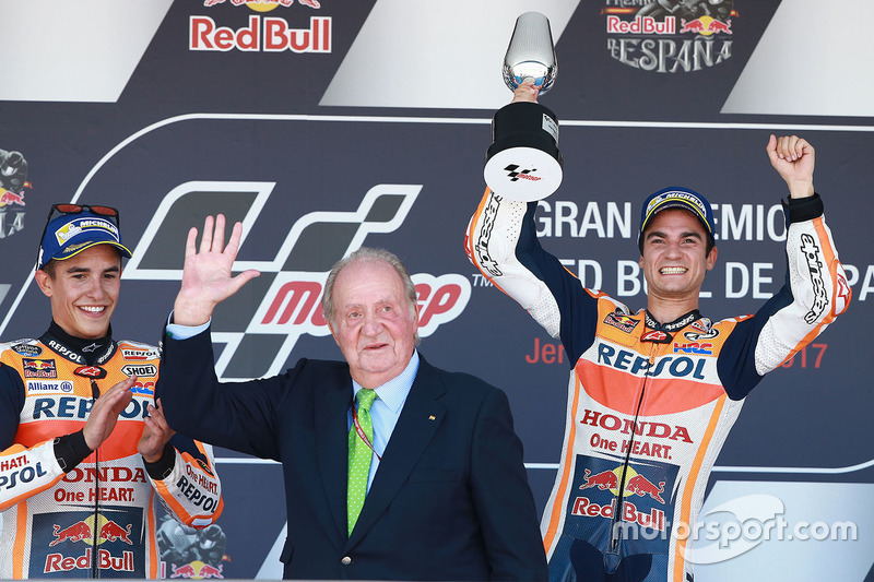 Marc Marquez, Repsol Honda Team, Juan Carlos, Dani Pedrosa, Repsol Honda Team