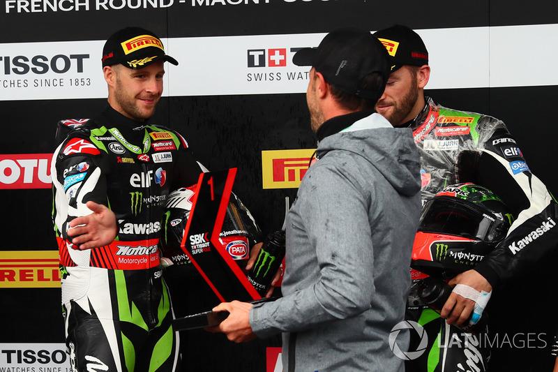 Джонатан Рей, Kawasaki Racing, здобуває поул