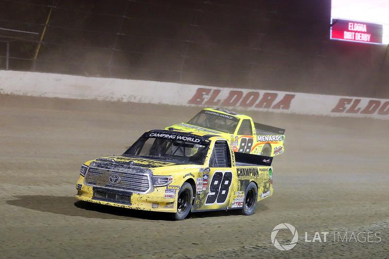 Grant Enfinger, ThorSport Racing Toyota y Matt Crafton, ThorSport Racing Toyota