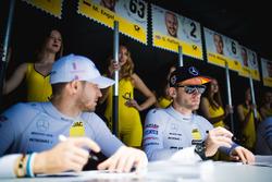 Maro Engel, Mercedes-AMG Team HWA, Mercedes-AMG C63 DTM and Edoardo Mortara, Mercedes-AMG Team HWA, Mercedes-AMG C63 DTM