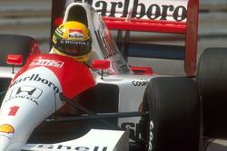 Ayrton Senna, McLaren MP4/6 Honda