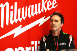 Romano Albesiano, Milwaukee Aprilia World Superbike Team