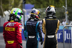Лукас ди Грасси, ABT Schaeffler Audi Sport, Себастьен Буэми, Renault e.Dams, и Жан-Эрик Вернь, Techeetah