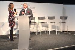 Dr. Vijay Mallya, Sahara Force India F1 Team Owner, Natalie Pinkham