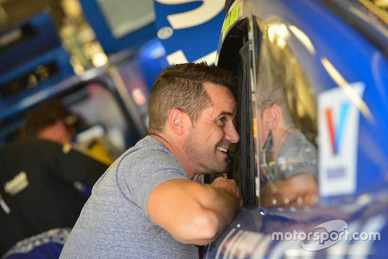 Casey Mears, Jimmie Johnson, Hendrick Motorsports Chevrolet