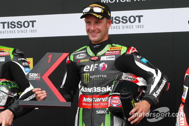 Polesitter Jonathan Rea, Kawasaki Racing