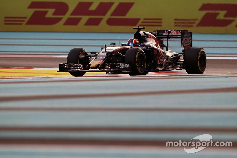 Ausfall: Daniil Kvyat, Scuderia Toro Rosso STR11