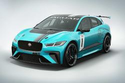 Jaguar I-PACE eTROPHY-Fahrzeug
