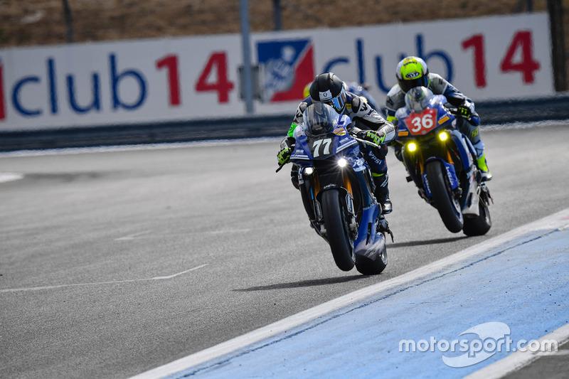 #77 Wojcik Racing Team, Yamaha: Pawel Gorka, Daniel Bukowski, Marek Szkopek