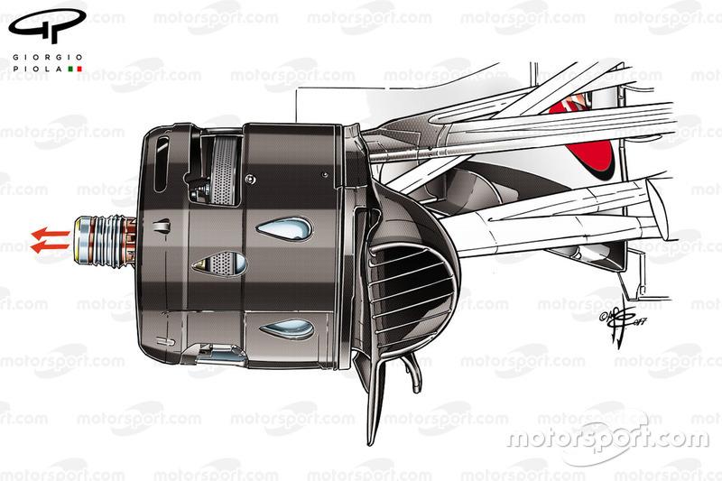 Видувна вісь, Ferrari SF70H