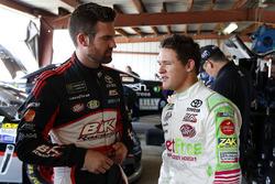Corey LaJoie, BK Racing, Toyota; Gray Gaulding, BK Racing, Toyota