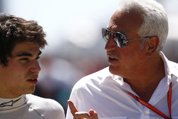 Lance Stroll, Williams ve babası Lawrence Stroll