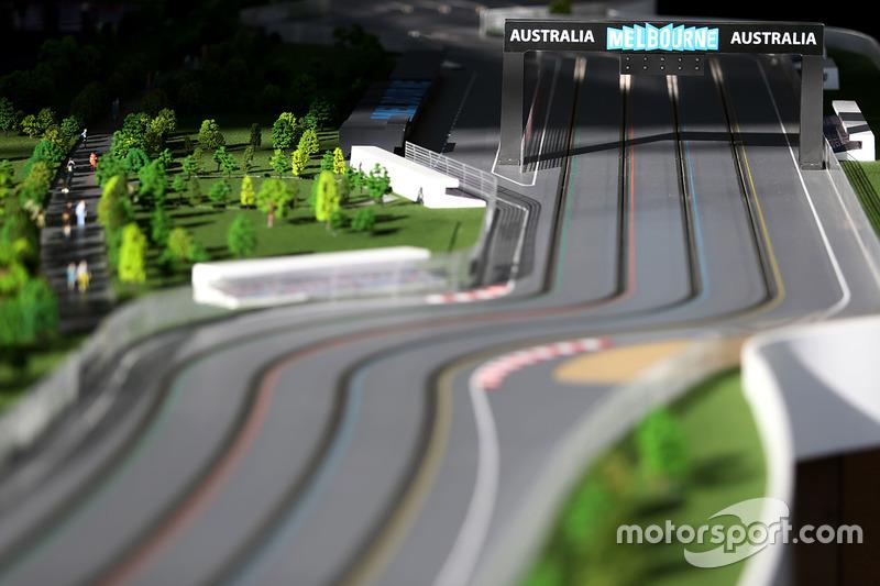 Ambiente de pista de slot car