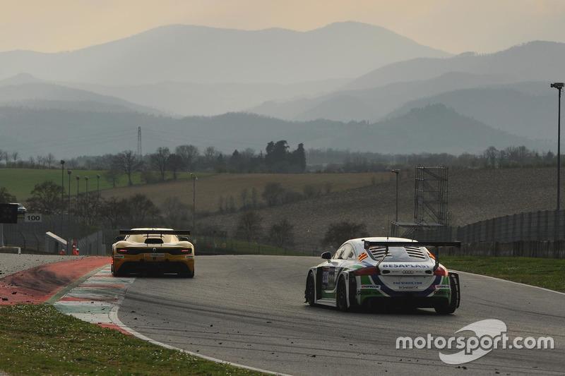 #233 Besaplast Racing, Audi TT-RS: Franjo Kovac, Milenko Vukovic, Tomás Pekar