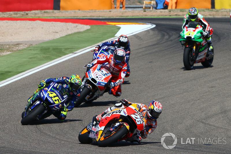 Dani Pedrosa, Repsol Honda Team, Valentino Rossi Yamaha
