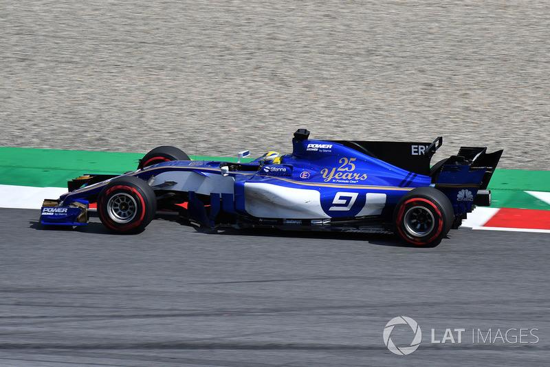 19. Маркус Ерікссон, Sauber C36