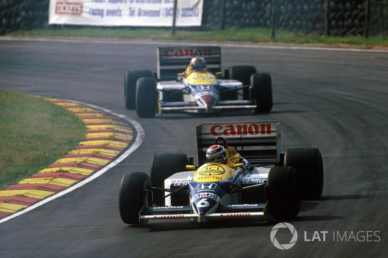 Como superou Mansell na Williams