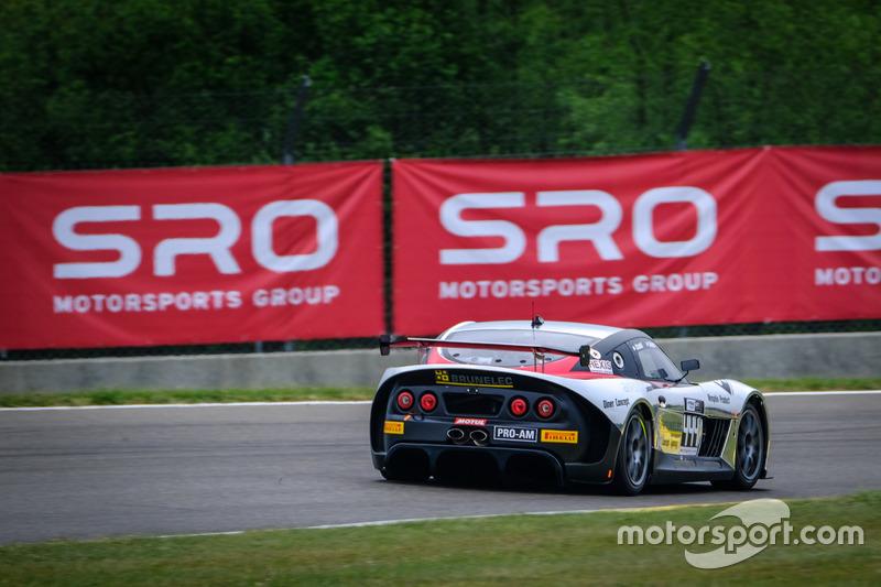 #444 Speed Car, Ginetta G55 GT4: Gael Castelli, Rodolphe Wallgren
