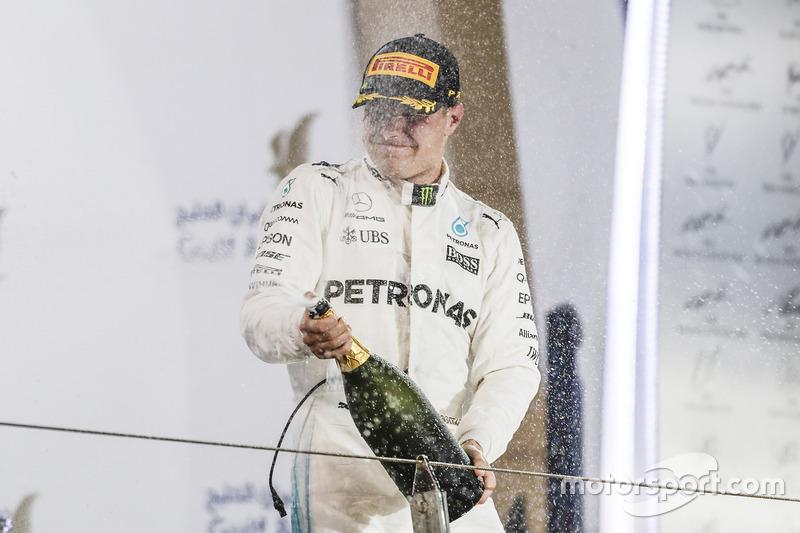 Valtteri Bottas, Mercedes, third place