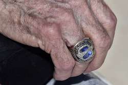 NASCAR Hall of Fame ring of Leonard Wood