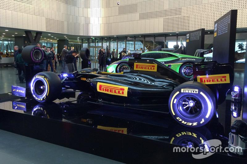 Coche Pirelli F1